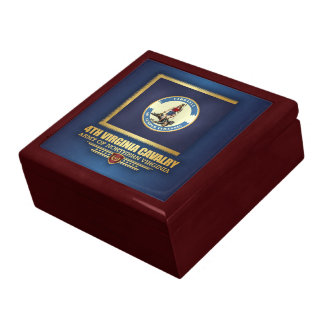 4th Virginia Cavalry Large Square Gift Box