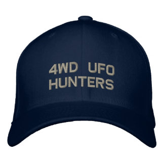 4WD UFO HUNTERS Flex Fit Embroidered Hat
