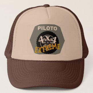 4x4 CARRIES FAR - PILOT Trucker Hat