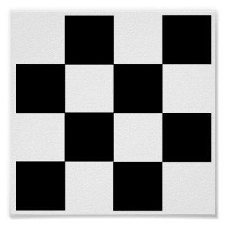"4x4 Checkers TAG Board (1-1/4"" fridge magnets) Print"
