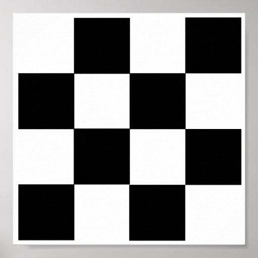 "4x4 Checkers TAG Board (1-1/4"" fridge magnets) Print"