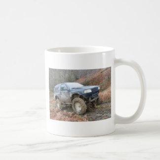 4x4 Off Roader on mud Coffee Mug