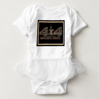 4X4 Rig Up Camo Baby Bodysuit