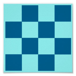4x4 Tic Tac Toe Chess TAG Grid (Fridge Game) Poster