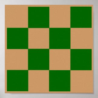 4x4 Tic Tac Toe Chess TAG Grid (Fridge Game) Print