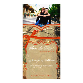 4x8 Engagement Announcement Hunters Camoflouge Cam Photo Cards