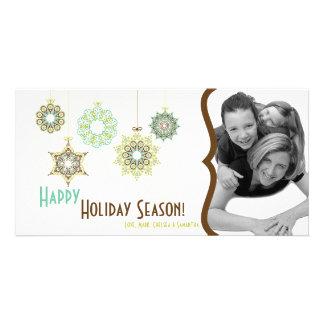 4x8 New Years Eve Christmas Holiday PHOTO Card