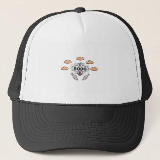 5000 fed miracle jc trucker hat
