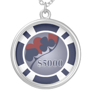 $5000 Poker Chip Necklace