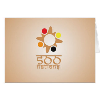 500 Nations Note Card