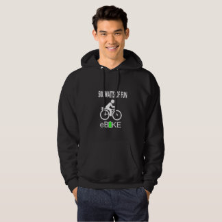 """500 Watts of fun"" custom hoodies for men"