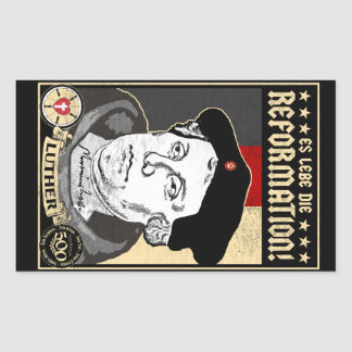 500th Anniversary Reformation Luther 4pak Stickers