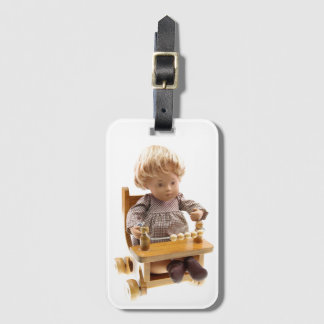 501_Baby_Honey_Blonde_Sandy_0001 Luggage Tag