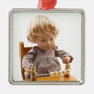 501_Baby_Honey_Blonde_Sandy_0001 Oranament Metal Ornament