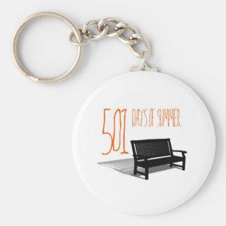 501 Days Of Summer Basic Round Button Key Ring