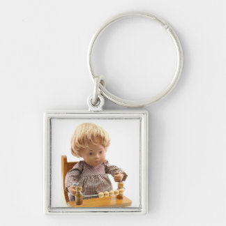 501 Sasha baby blond Sandy key supporter Key Ring