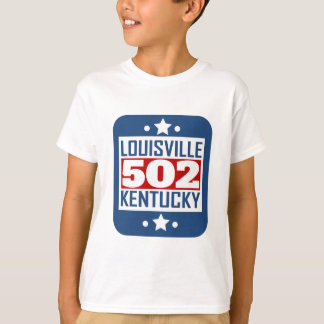 502 Louisville KY Area Code T-Shirt