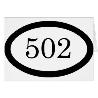 502nd Airborne Card
