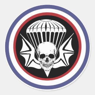 502nd PIR Classic Round Sticker