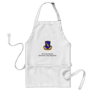 504th PIR- My Girlfriend Defends Our Freedom Standard Apron