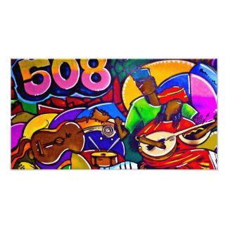 508 graffiti  Art Photographic Print