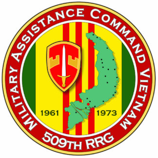 509th RRG 3 - ASA Vietnam Photo Sculpture Key Ring