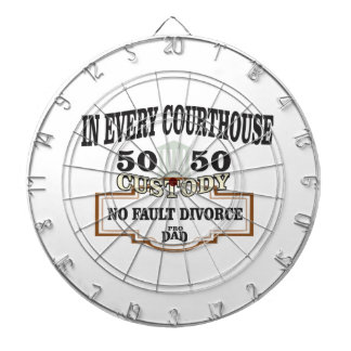 50 50 custody in every courthouse dartboard