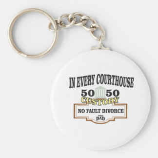 50 50 custody in every courthouse key ring
