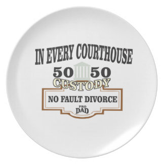 50 50 custody in every courthouse plate