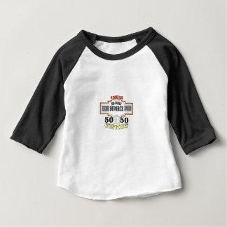 50 50 custody in marriage baby T-Shirt