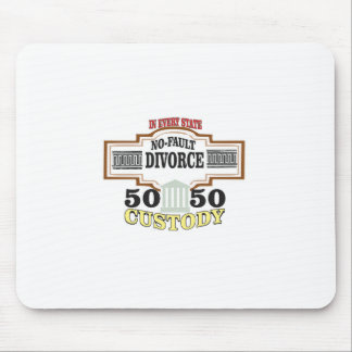 50 50 custody in marriage mouse pad