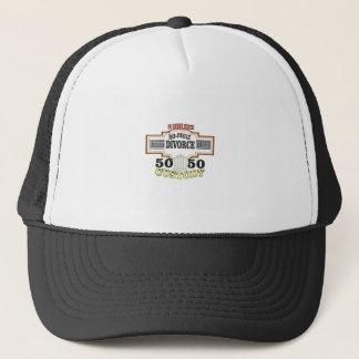 50 50 custody in marriage trucker hat