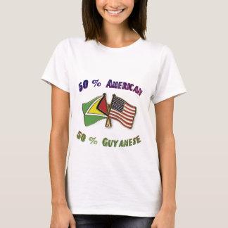 50% American 50% Guyanese T-Shirt