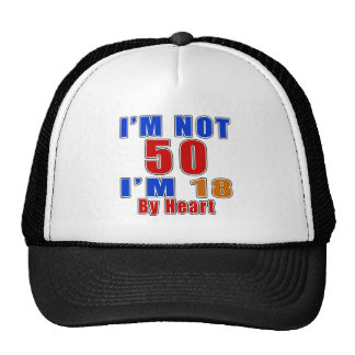 50 American Legend Birthday Designs Cap
