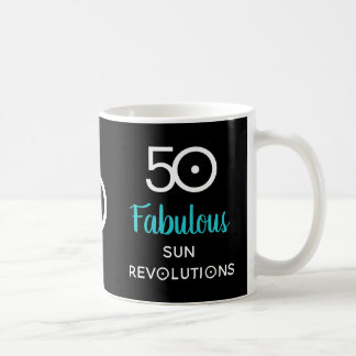 50 and Fabulous  50th Birthday Astrology Gift Mug
