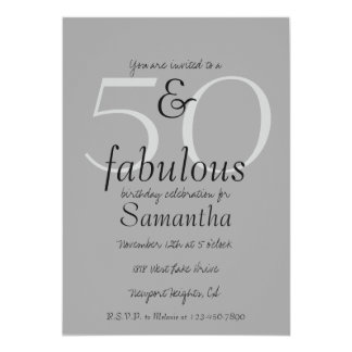 50 and Fabulous Card