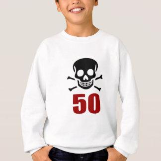 50 Birthday Designs Sweatshirt
