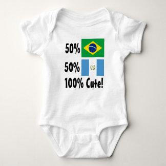 50% Brazilian 50% Guatemalan 100% Cute Baby Bodysuit
