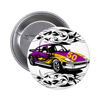 50 Button Sports Car