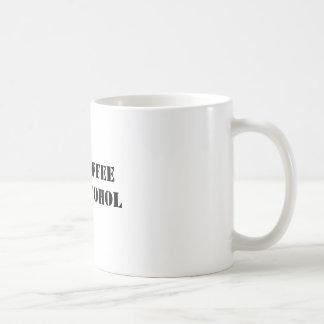 50% COFFEE50% ALCOHOL BASIC WHITE MUG