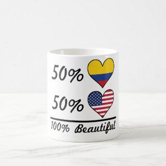 50% Colombian 50% American 100% Beautiful Coffee Mug