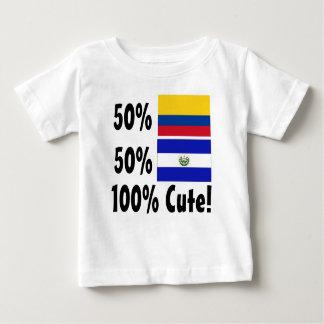 50% Colombian 50% Salvadorian 100% Cute Baby T-Shirt