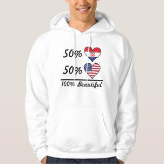 50% Croatian 50% American 100% Beautiful Hoodie
