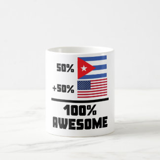 50% Cuban 50% American 100% Awesome Coffee Mug