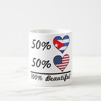 50% Cuban 50% American 100% Beautiful Coffee Mug