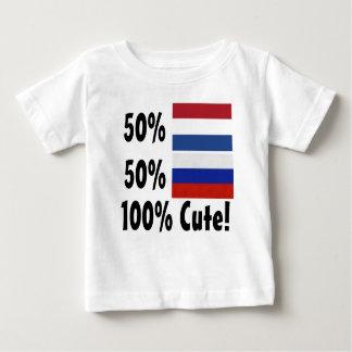 50% Dutch 50% Russian 100% Cute Baby T-Shirt