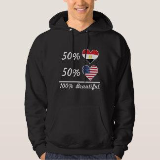50% Egyptian 50% American 100% Beautiful Hoodie