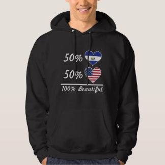 50% El Salvadorian 50% American 100% Beautiful Hoodie