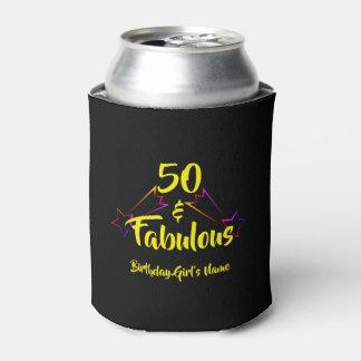 50 & Fabulous - Can Cooler