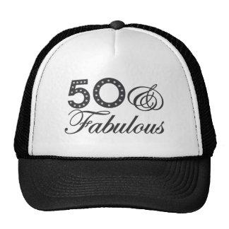 50 & Fabulous Gift Trucker Hat